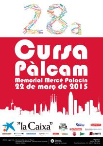 Cursa Pàlcam 2015 escola concertada Barcelona