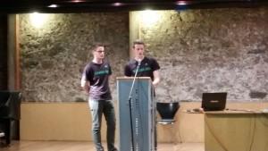 Presentació treball recerca sowork.org alumnes escola Pàlcam concertada Barcelona