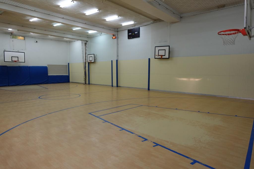 Pavelló bàsquet Pàlcam escola concertada de Barcelona