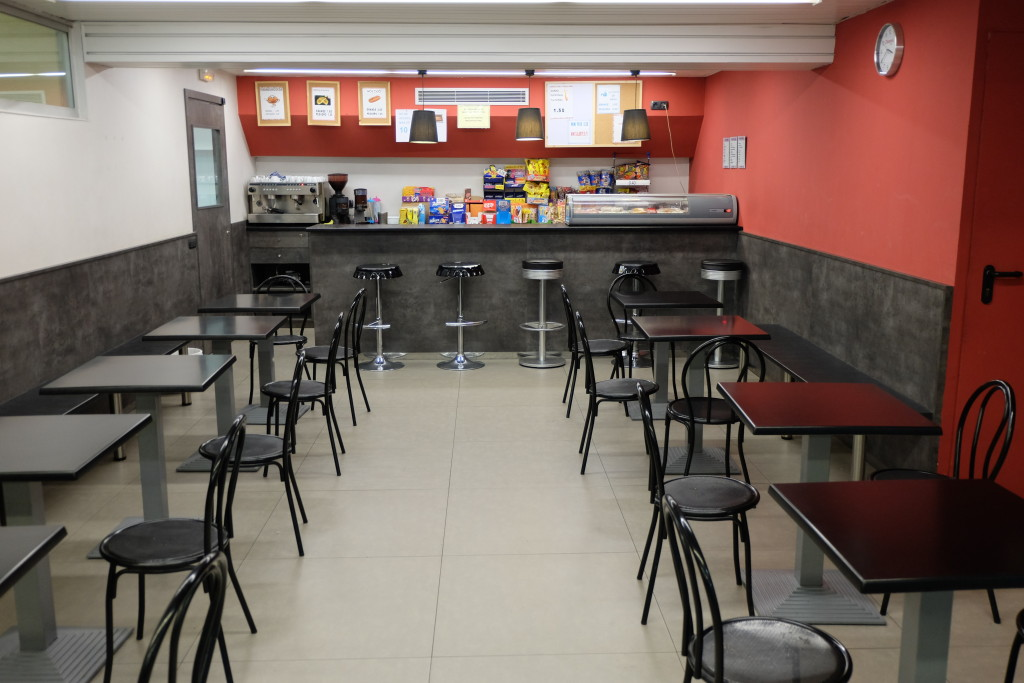 Cafeteria Dinamis escola Pàlcam concertada de Barcelona