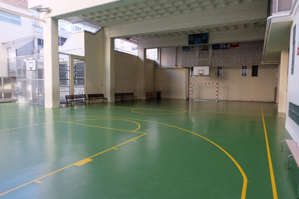 Pista Pàlcam escola concertada de Barcelona