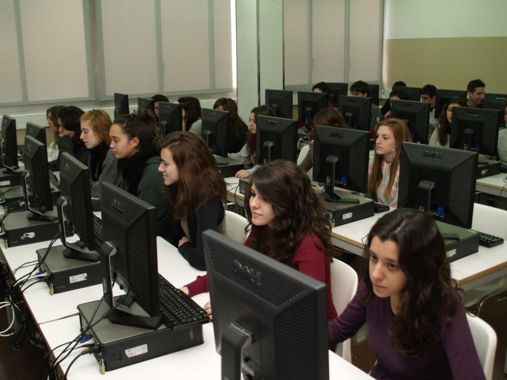 Aules d'informàtica escola Pàlcam concertada de Barcelona