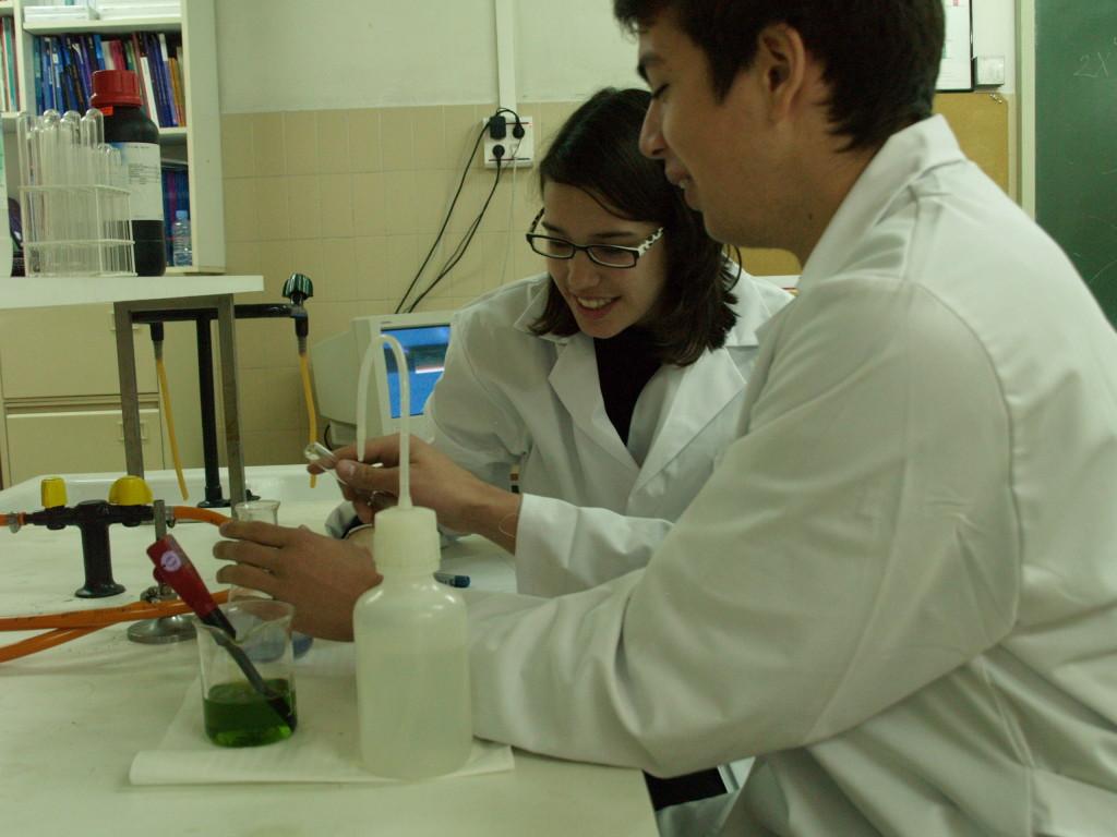 Laboratoris Física, Química y Biologia escola Pàlcam concertada de Barcelona