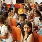 Lliurament premis al mèric esportiu Pàlcam escola concertada de Barcelona
